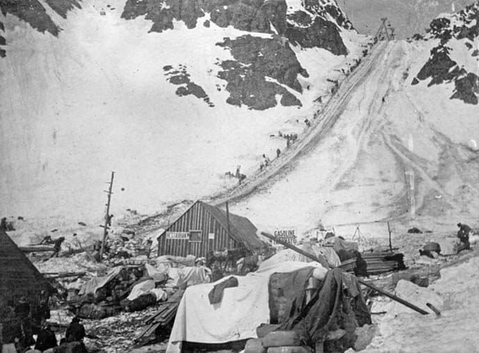 klondike gold rush Chilkoot Trail