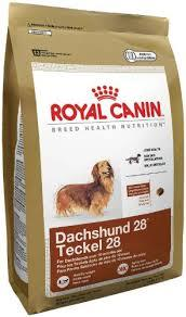Bag of Royal Canin dog food