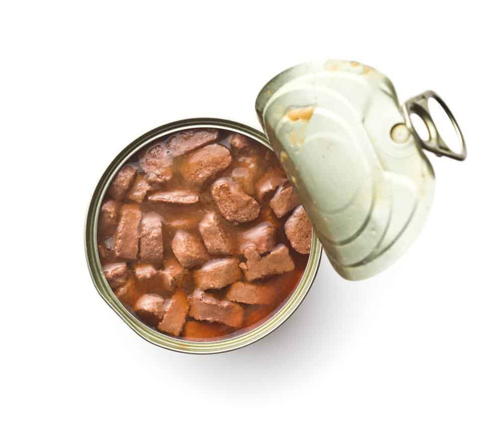canned high calorie dog food
