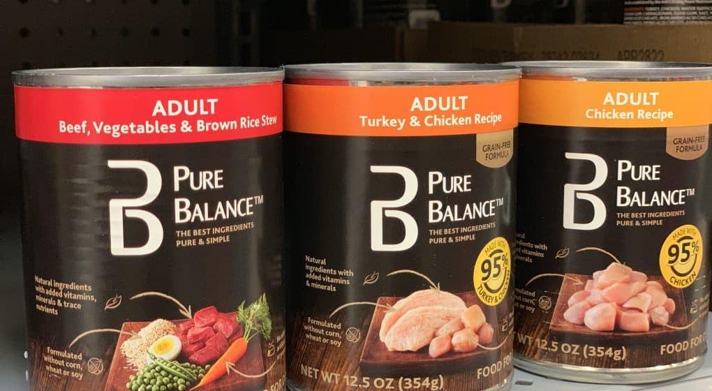 Pure Balance Canned Wet Food Review